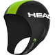 HEAD Neo Swim Cap Black (BK)/Lime (Lime (LM)